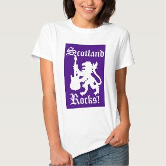 ¡Rocas de Escocia! Camisas