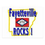 ¡Rocas de Fayetteville! (azul) Postal