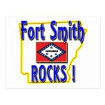 ¡Rocas de Fort Smith! (azul) Tarjeta Postal