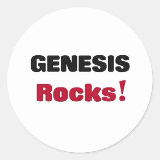 Rocas de génesis pegatina