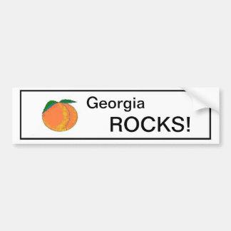 ¡ROCAS de Georgia! Pegatina Pegatina De Parachoque
