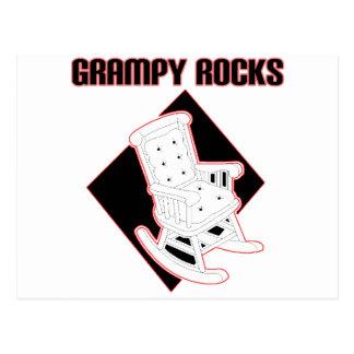 Rocas de Grampy Tarjeta Postal