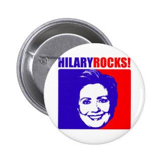 ¡Rocas de Hilary! Pin