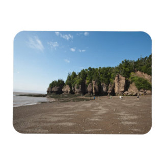 Rocas de Hopewell y la exploración de marea del oc Imanes De Vinilo