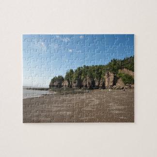 Rocas de Hopewell y la exploración de marea del oc Puzzle Con Fotos