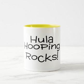 Rocas de Hula Hooping Taza De Café