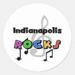 Rocas de Indianapolis Pegatinas