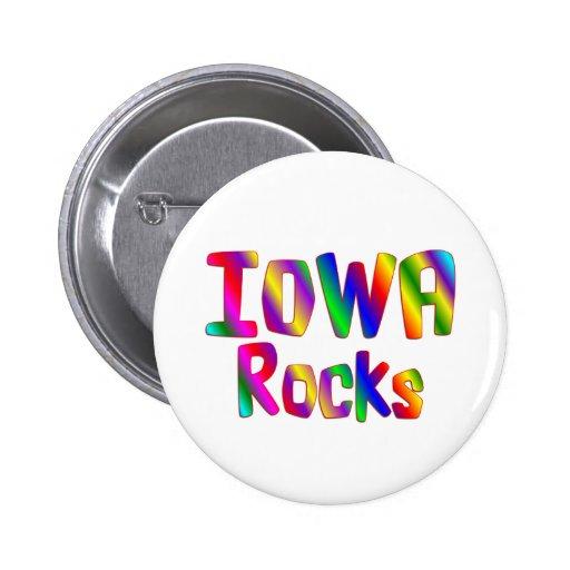 Rocas de Iowa Pins