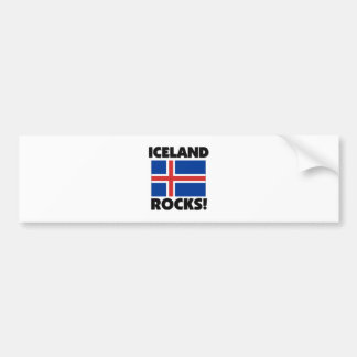 Rocas de Islandia Pegatina Para Auto
