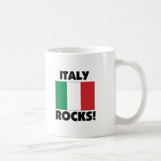 Rocas de Italia Taza Básica Blanca