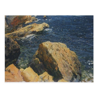 Rocas de Joaquín Sorolla- del cabo, Javea Tarjetas Postales