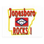 ¡Rocas de Jonesboro! (rojo) Postales