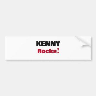 Rocas de Kenny Pegatina De Parachoque