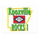 ¡Rocas de Knoxville! (verde) Tarjeta Postal