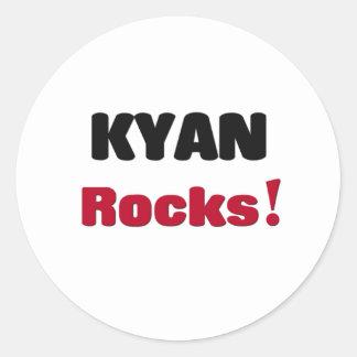 Rocas de Kyan Pegatinas