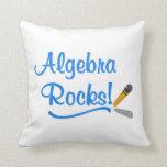 ¡Rocas de la álgebra! Almohada
