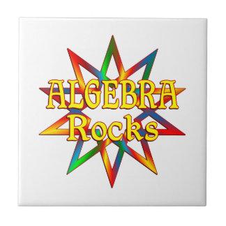 Rocas de la álgebra azulejo cuadrado pequeño