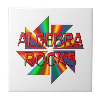 Rocas de la álgebra teja