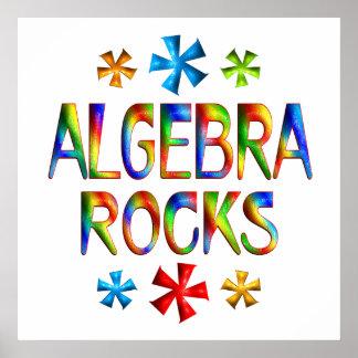 ROCAS de la ÁLGEBRA - comenzando en 11 80 Posters