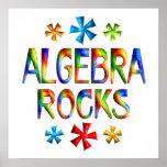 ROCAS de la ÁLGEBRA - comenzando en $11,80 Posters