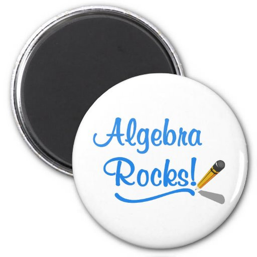 ¡Rocas de la álgebra! Imanes