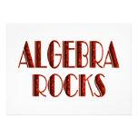 Rocas de la álgebra invitación personalizada