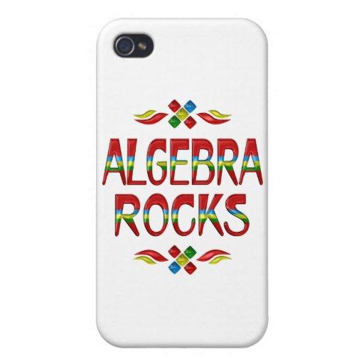Rocas de la álgebra iPhone 4 funda