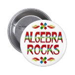 Rocas de la álgebra pins