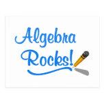 ¡Rocas de la álgebra! Postal