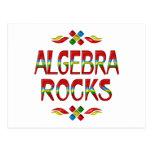 Rocas de la álgebra postales