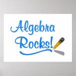 ¡Rocas de la álgebra! Poster