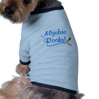 ¡Rocas de la álgebra! Camisetas De Perrito