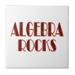 Rocas de la álgebra tejas  cerámicas