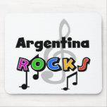 Rocas de la Argentina Tapetes De Raton