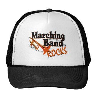 Rocas de la banda gorras de camionero