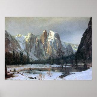 Rocas de la Bierstadt-Catedral de Albert, Yosemite Impresiones
