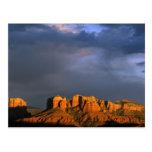 Rocas de la catedral en Sedona Arizona Tarjeta Postal