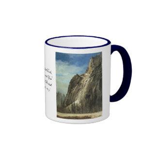 Rocas de la catedral, una opinión de Yosemite Taza A Dos Colores