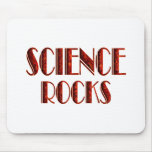 Rocas de la ciencia alfombrillas de ratones