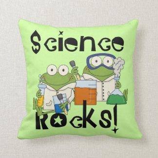 Rocas de la ciencia de las ranas cojín