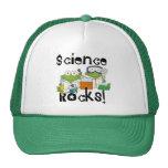 Rocas de la ciencia de las ranas gorra