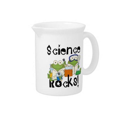 Rocas de la ciencia de las ranas jarrón