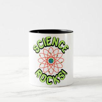 ¡Rocas de la ciencia! Drinkware Taza De Dos Tonos