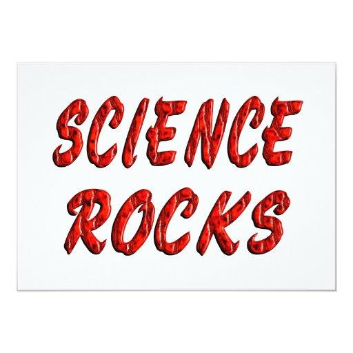 ROCAS de la ciencia Invitación Personalizada