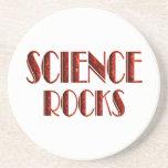Rocas de la ciencia posavasos cerveza