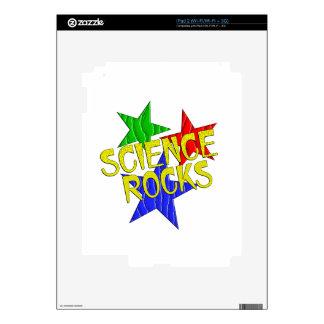 Rocas de la ciencia skins para iPad 2