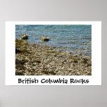 Rocas de la Columbia Británica Impresiones