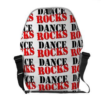 Rocas de la danza bolsas de mensajeria