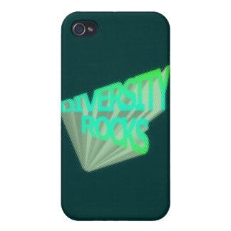Rocas de la diversidad iPhone 4 fundas