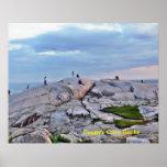 Rocas de la ensenada de Peggy - Nueva Escocia Impresiones